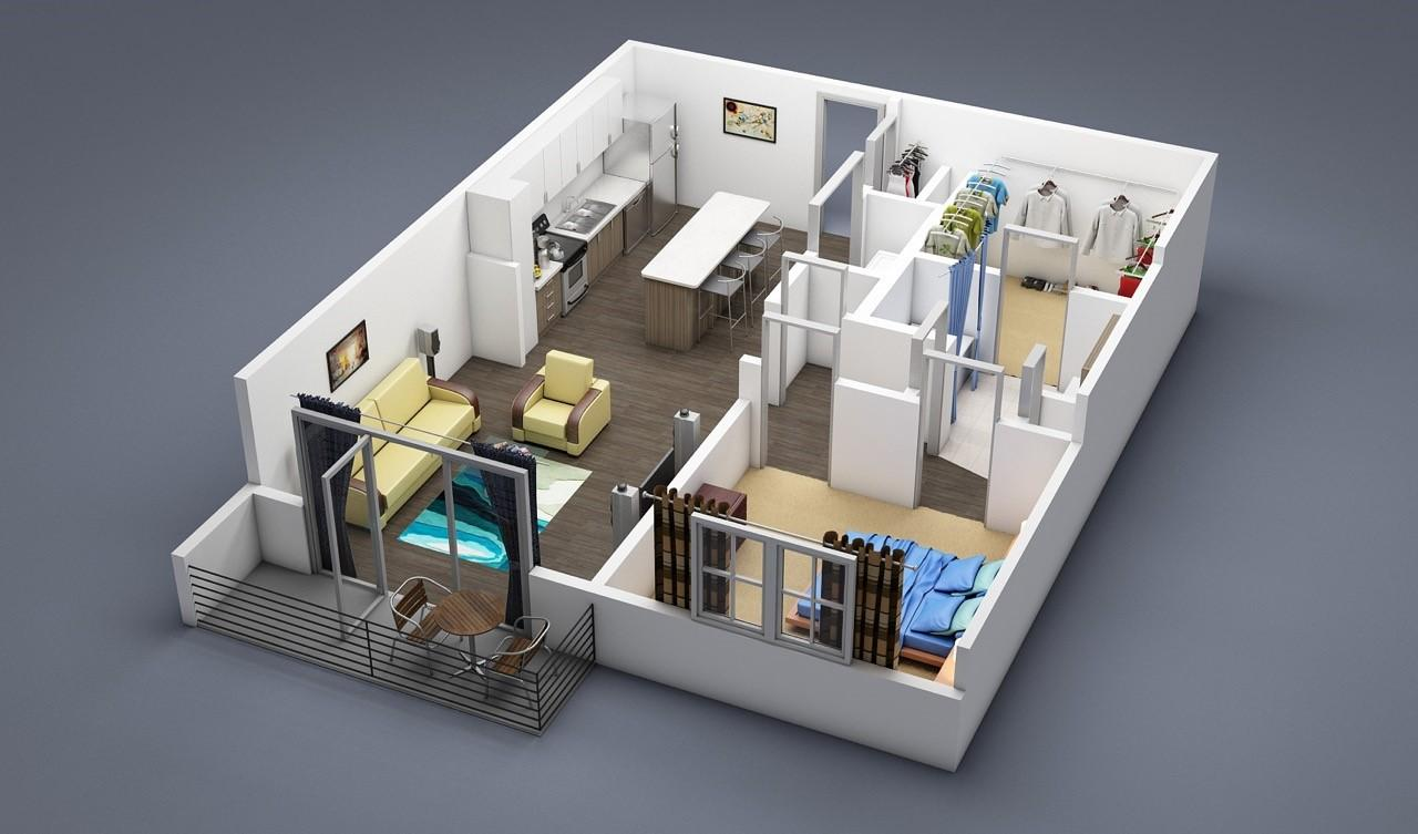 $1513 Studio Apartment for rent