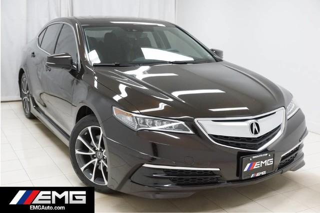 Acura TLX SH-AWD Technology Navigation Sunroof Backup Camera 1 Owner 2015