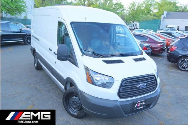 Ford Transit Van Medium Roof 148 Cargo 1 Owner Backup Camera 2018