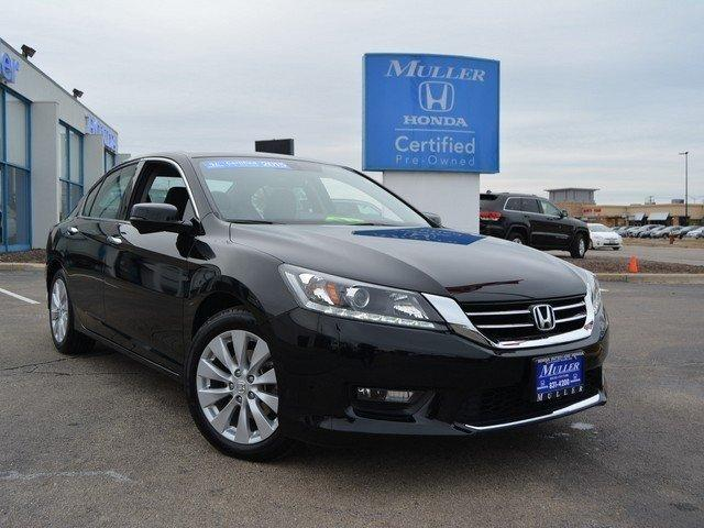 Honda Accord Sedan EX-L V-6 W/NAVI 2015