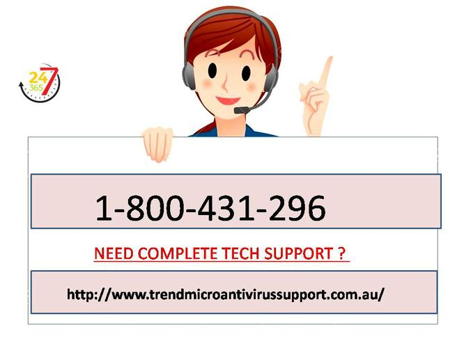 Available 24*7 trend support number  1-800-431-296