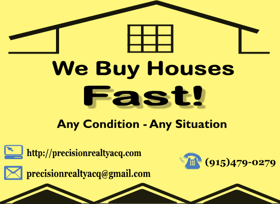 *I Buy Houses Cash! No Closing Costs Or Realtor Fees!*