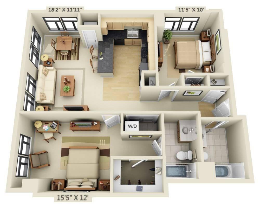 $2239 Two bedroom Apartment for rent