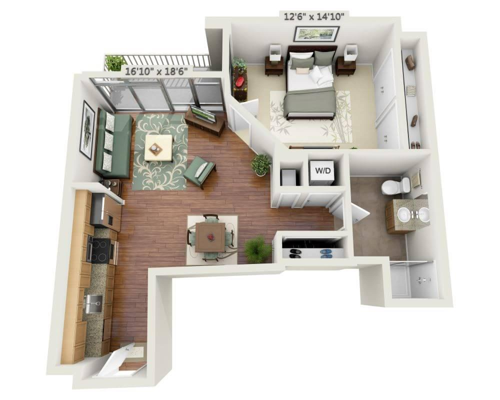 $2398 One bedroom Apartment for rent