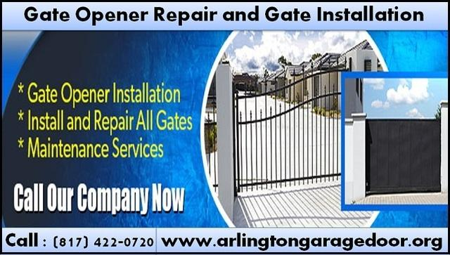Starting $26.95 Gate Opener Repair and Installation Service