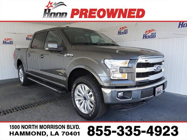 Ford F-150 Lariat 4WD 2016