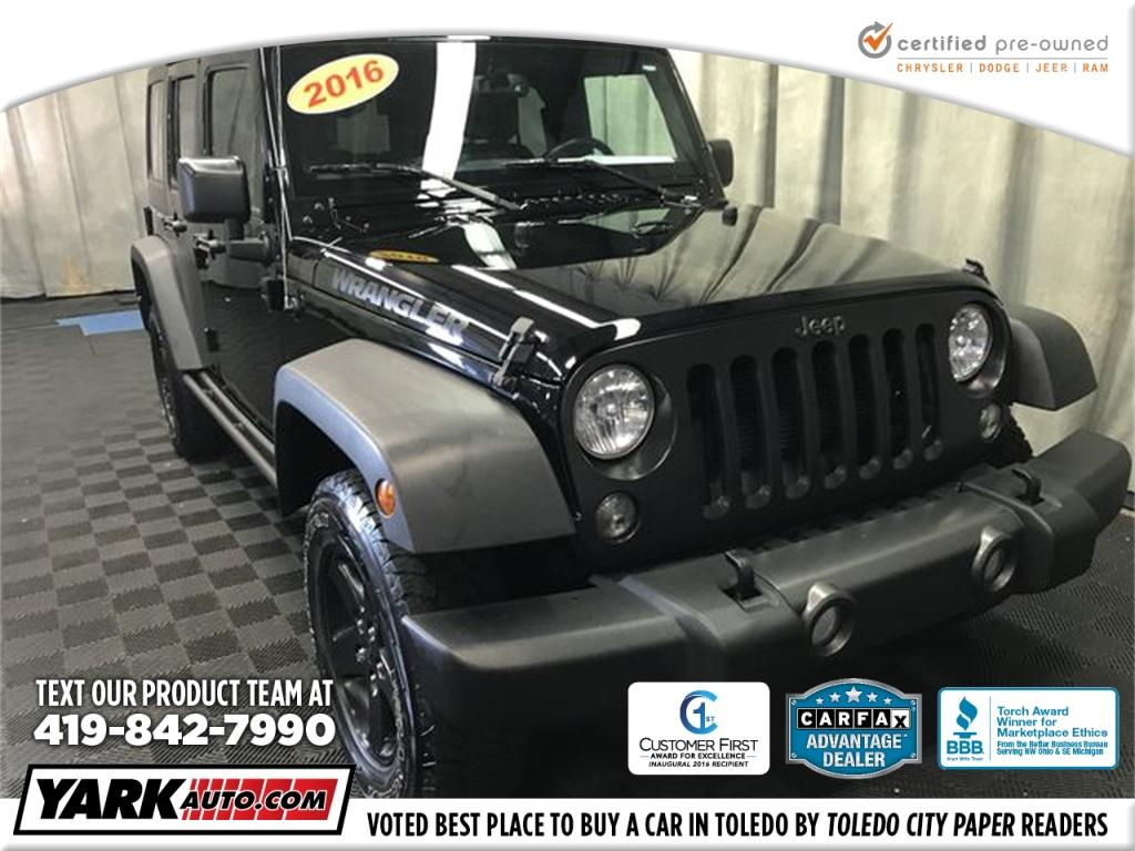 Jeep Wrangler Unlimited Unlimited Sport 2016