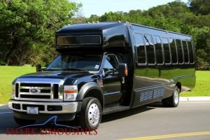 Party Limo Bus and Charter Bus Rentals