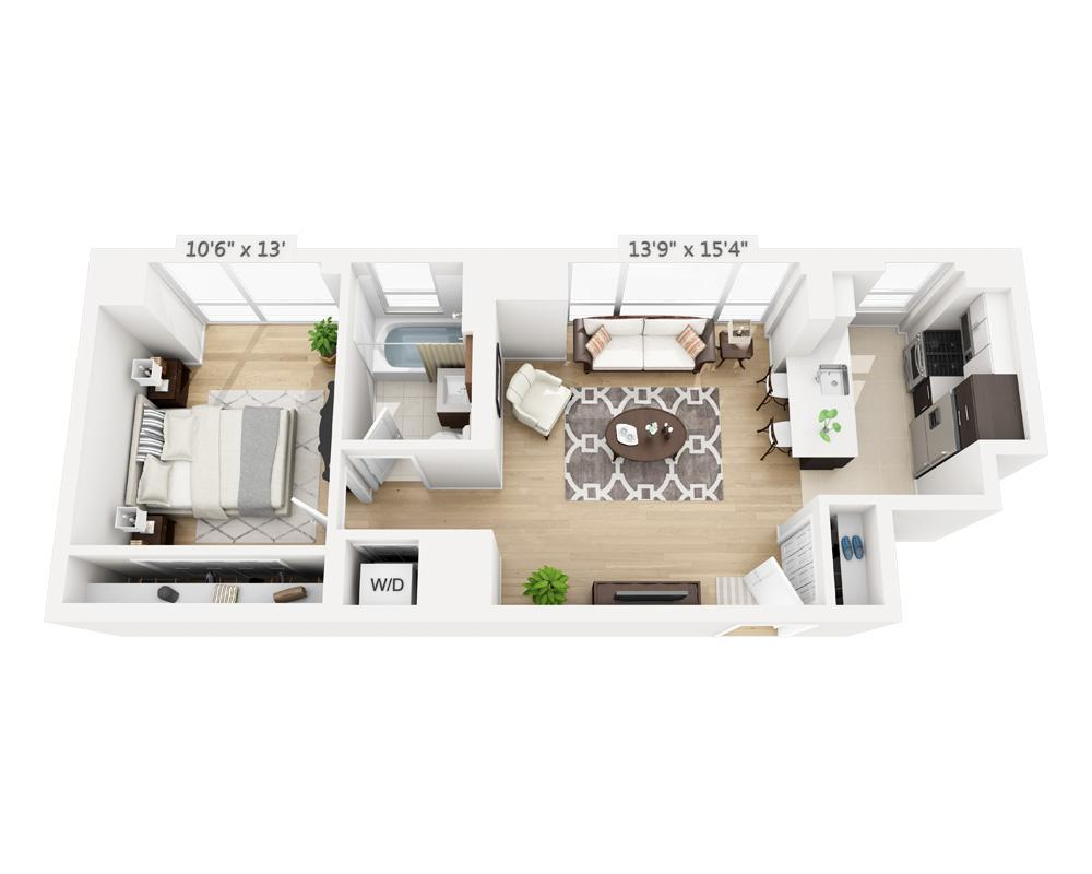 $3740 One bedroom Apartment for rent