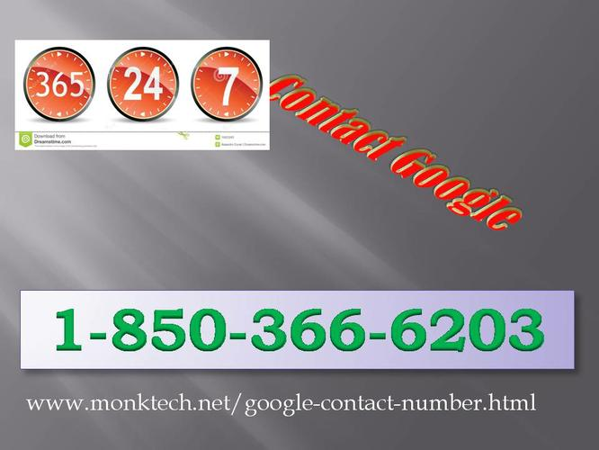 Is there any way to contact Contact Google  team?call 1-850-366-6203