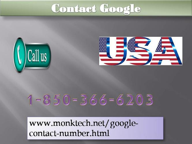 How to avail Contact Google ?call 1-850-366-6203