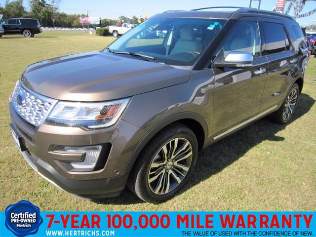 Ford Explorer Platinum 2016