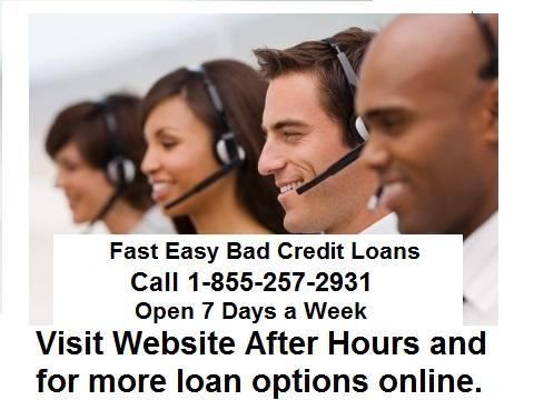 Bad Credit No Credit Check Payday Loans