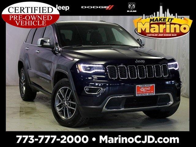 Jeep Grand Cherokee Limited LUXURY GROUP II 2017