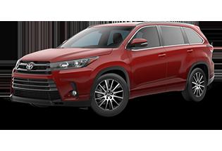Toyota Highlander se 2017