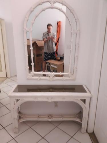 Foyer Mirror & Mirror Vanity Table