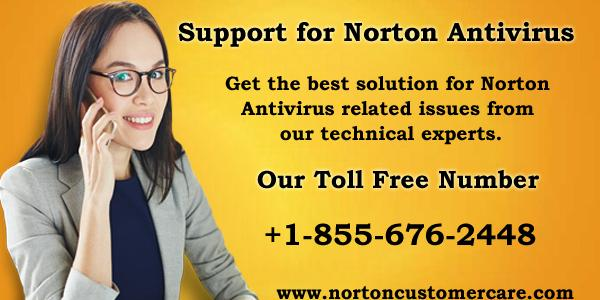 Norton Support Number +1-855-676-2448