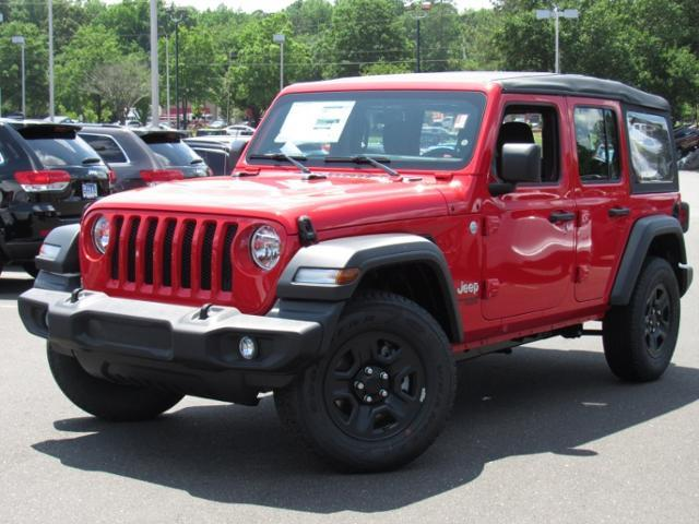 Jeep Wrangler Unlimited Sport 4x4 2018