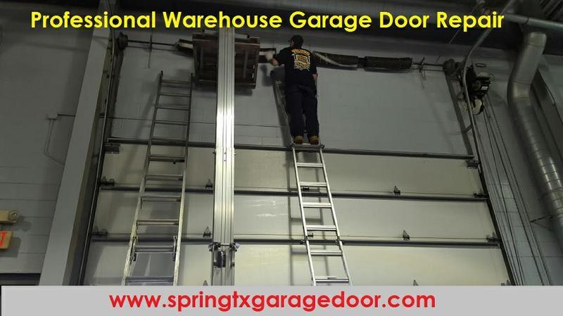 Professional Warehouse Garage Door Repair 4th of July Sale $26.95