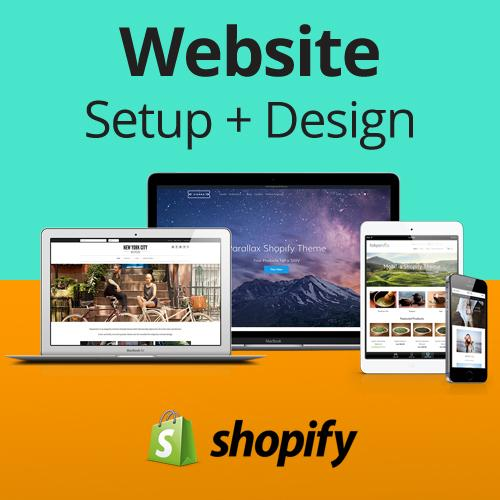Shopify Website Setup, Design, & Product Uploading