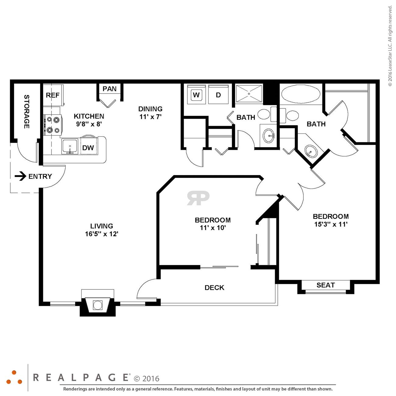 $1379 Two bedroom Apartment for rent