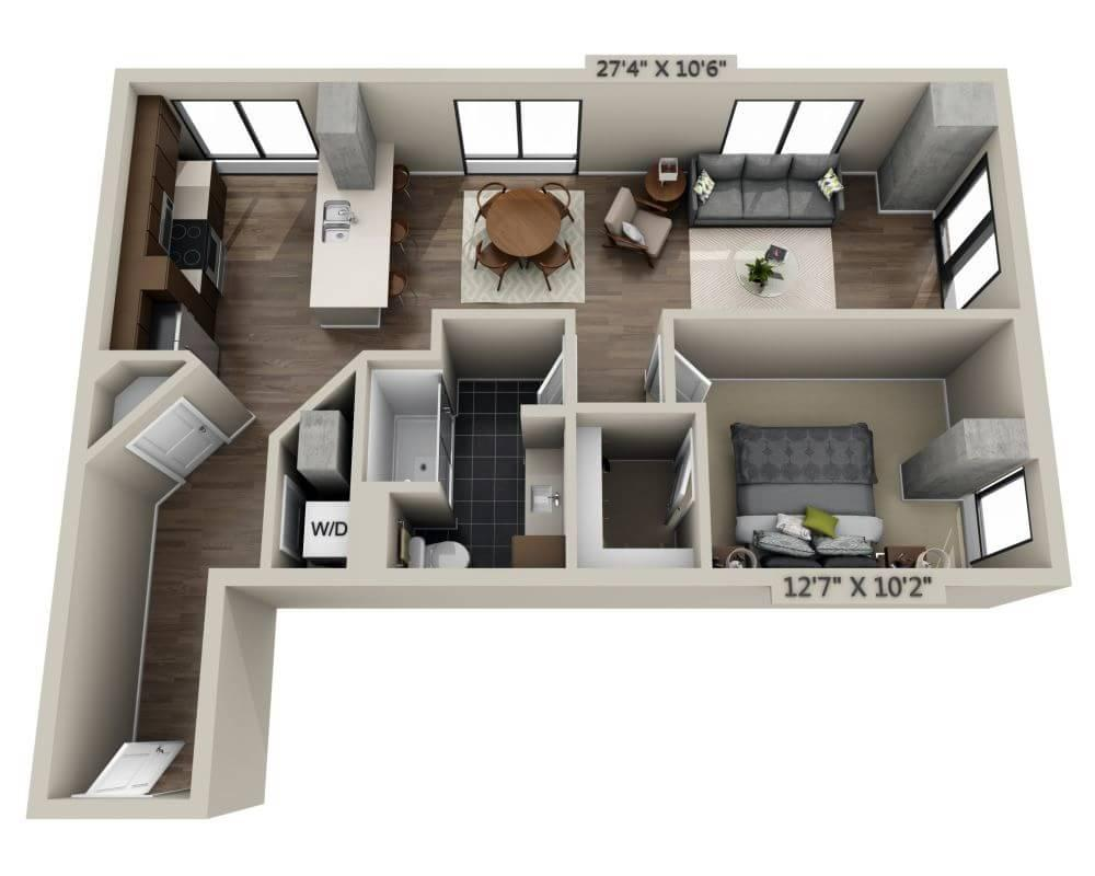 $2490 One bedroom Apartment for rent