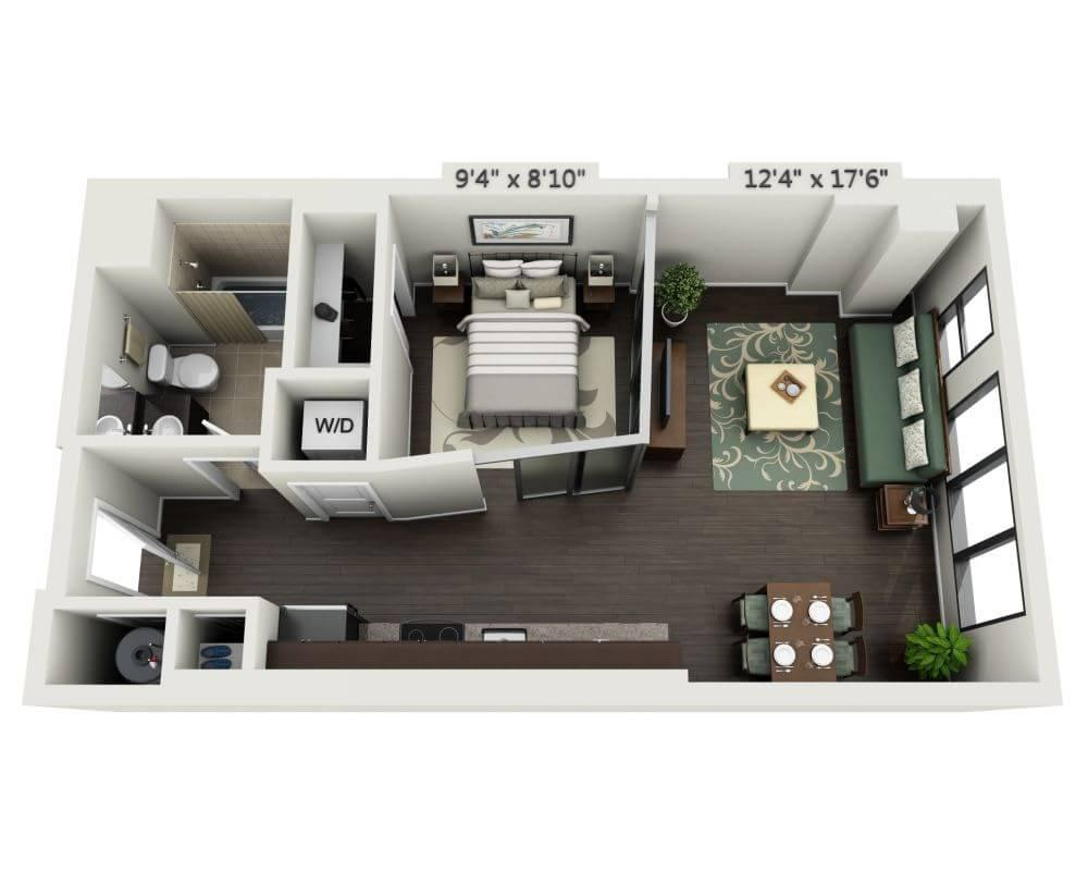 $1758 One bedroom Apartment for rent