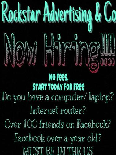 Looking for people to post flyers on Facebook!