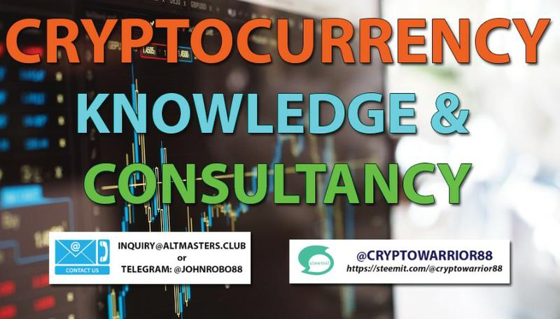 CRYPTOCURRENCY KNOWLEDGE & CONSULTANCY