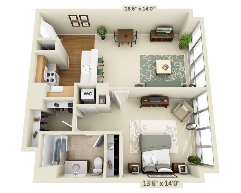 $3963 One bedroom Apartment for rent
