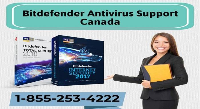 Bitdefender Support Canada Helpline Number 1-855-253-4222