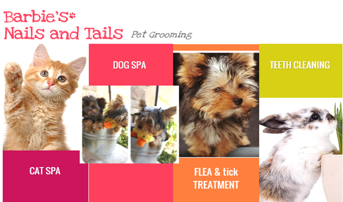 Barbie's Nails and Tails Pet Grooming