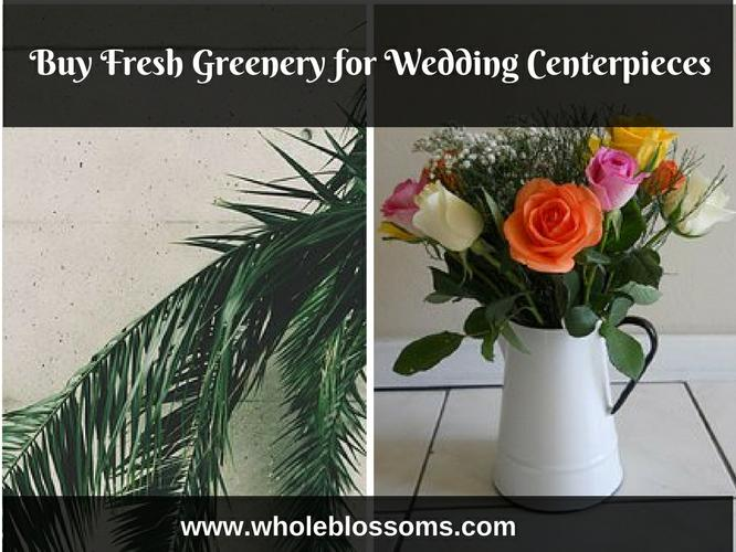 Order Fresh Greenery for Flower Arrangements