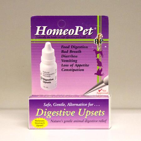 Digestive Upsets for Dogs and Cats