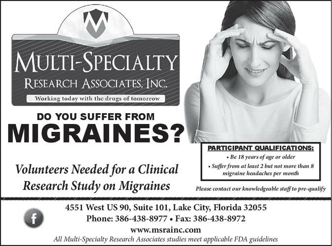 Attention Migraine Sufferers