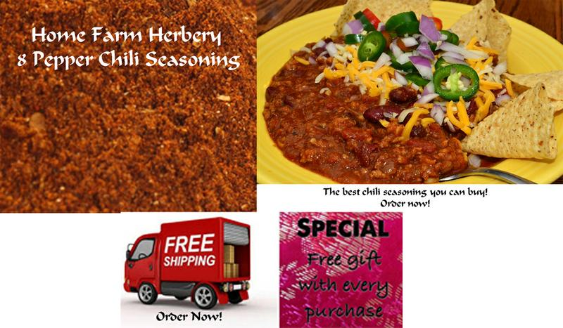 8 Pepper Chili Seasoning, Order now, FREE shipping & a FREE Gift