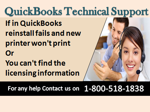 Toll-free QuickBooks Customer Support Number 1-800-518-1838