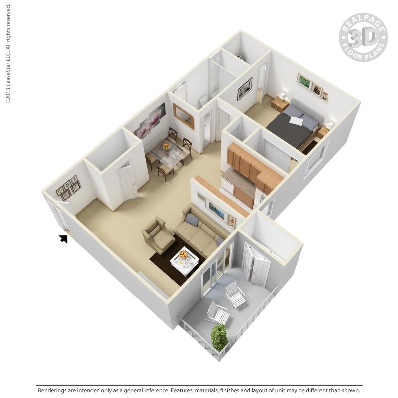 $659 One bedroom Apartment for rent