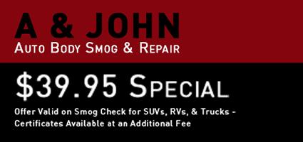 A & John Auto Body Smog & Repair
