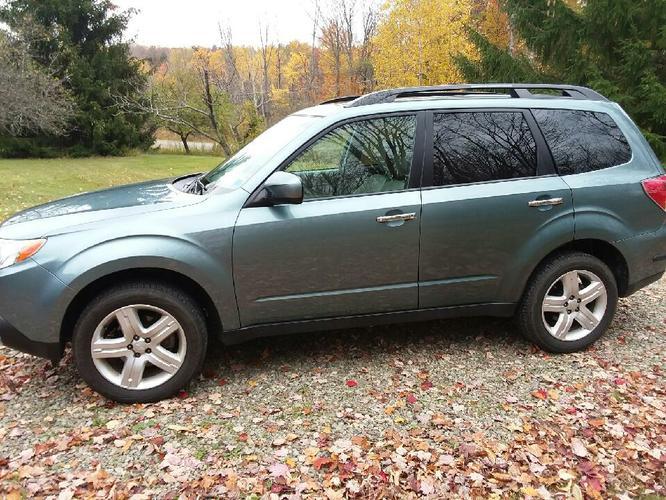 2010 Subaru Forester Low Miles 16,600 - $13900 (Panama, NY)
