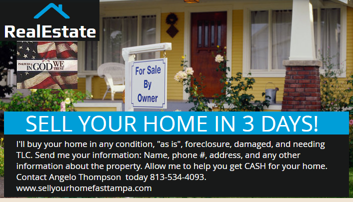SELL YOUR HOME IN 3 DAYS!