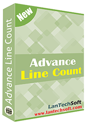 Advance Line Count Software worldwide used for line count