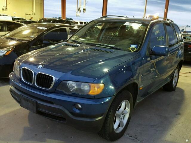2003 BMW X5 3.0I 3.0L 6 for Sale at Copart Auto Auction