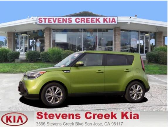 2014 Kia Soul Hatchback  ( Stevens Creek Kia : CALL (800) 971-2954 ) - $14,995