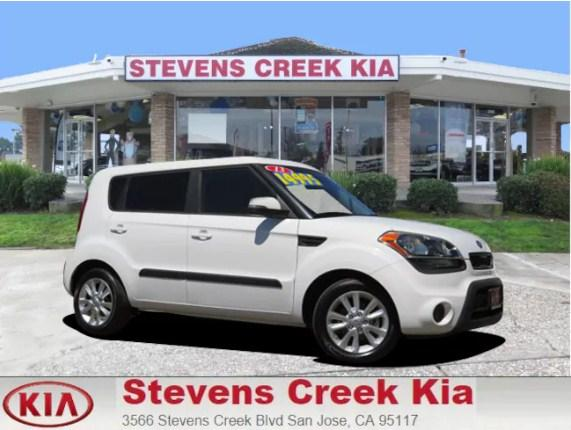 2013 Kia Soul Hatchback  ( Stevens Creek Kia : CALL (800) 971-2954 ) - $13,888