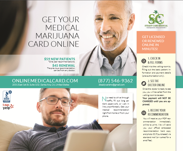 $59 Get Your Compassionate Use Card Online |medical-treatments