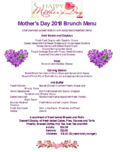 Ramada Inn Mothers Day Brunch