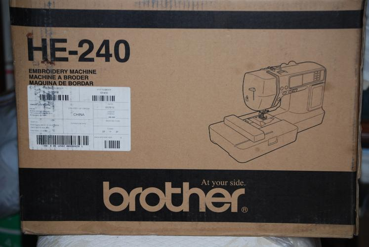 Brother Embroidry and Sewing Machine   New