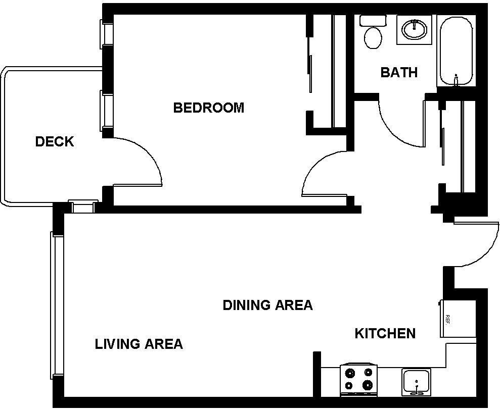 $2727 One bedroom Apartment for rent