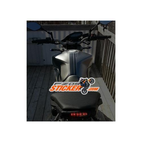 Yamaha FZ-09 fuel tank stickers